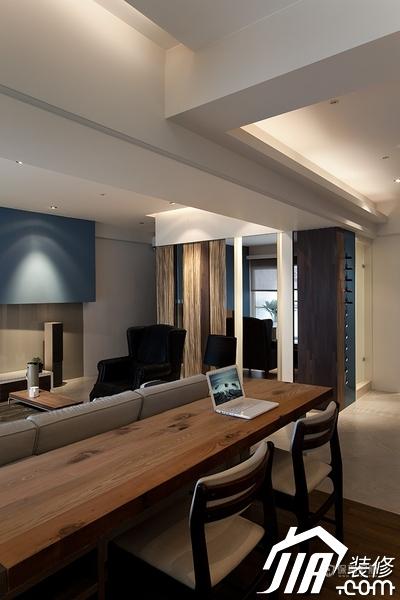 大气简约风 纯洁可人小户型 小户型装修,一居室装修,富裕型装修,简约风格,冷色调装修,时尚,工作区,书桌