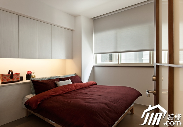 10款简约风格卧室背景墙装修效果图