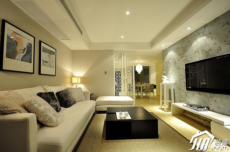 新中式二居室 简约新潮流舒适风