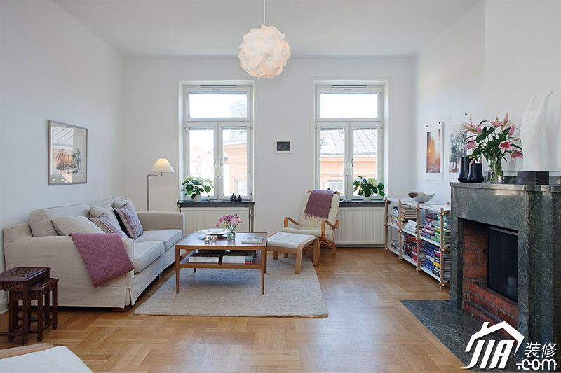 北欧式别墅设计 简洁大方美好生活