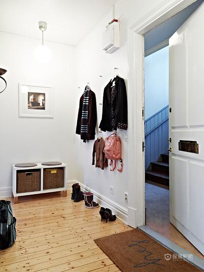 光彩时尚 沉稳二居室 光彩 时尚,公寓装修,70平米装修,经济型装修,北欧风格,衣帽间