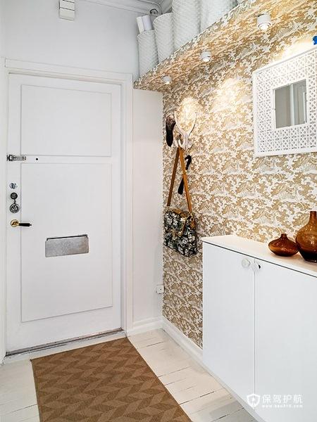 简洁清新北欧风 纯美实用公寓