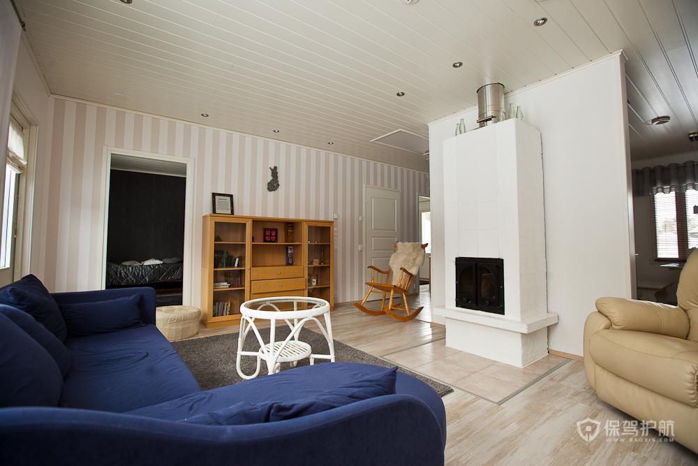 欧式风格四室两厅20平客厅装潢效果图