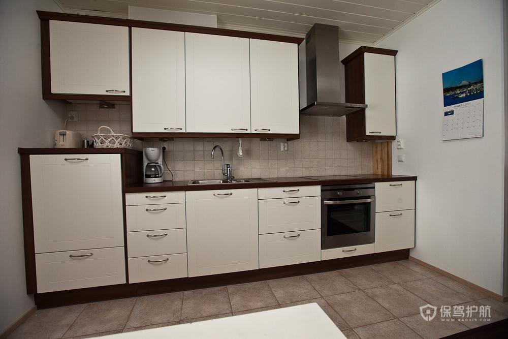 宜家风格两室两厅10平米厨房橱柜效果图