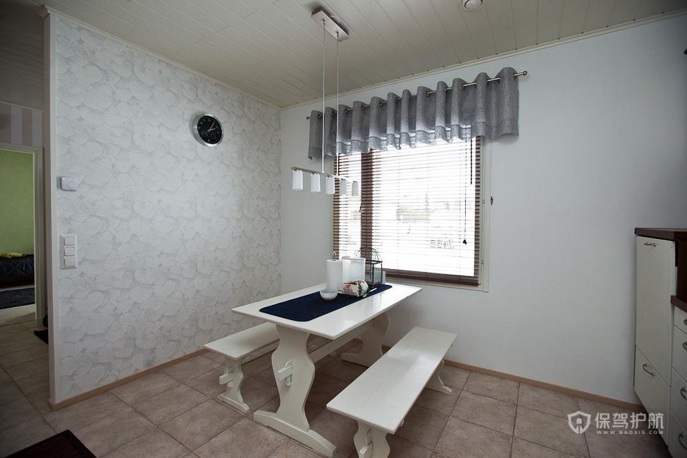 美式风格两室一厅小户型5平米餐厅窗户效果图