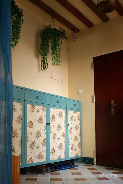 唯美手绘墙 富裕型混搭三居室