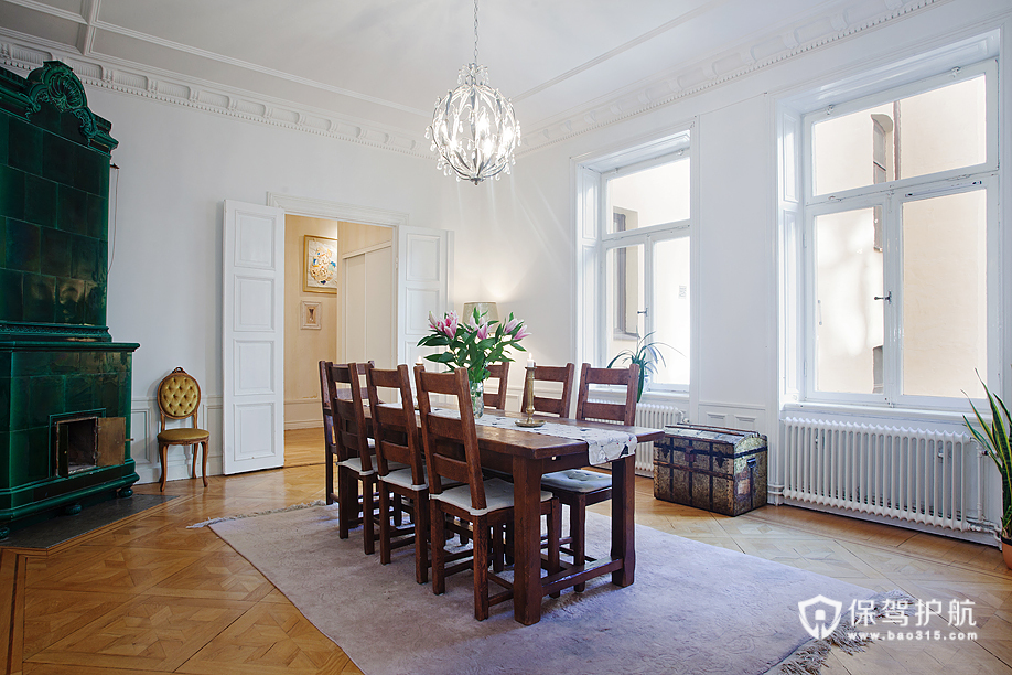 古典北欧通透房 纯净木作家