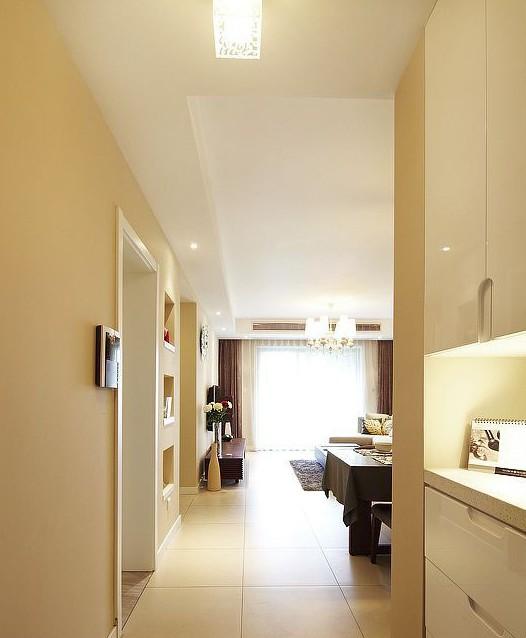 精致现代简约 简单温暖两居室