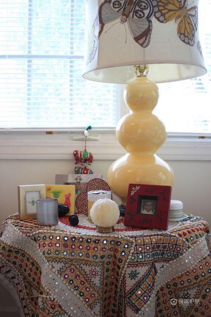 四室一厅法式风格卧室创意灯具搭配效果图