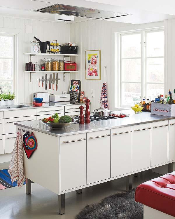 装修专题 15平米厨房欧式复古装