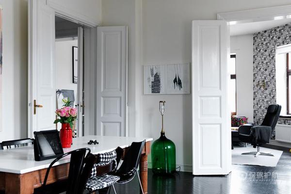 北欧简约风公寓客厅装修效果图