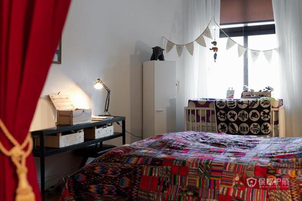 简约50平欧式风格公寓卧室装修效果图