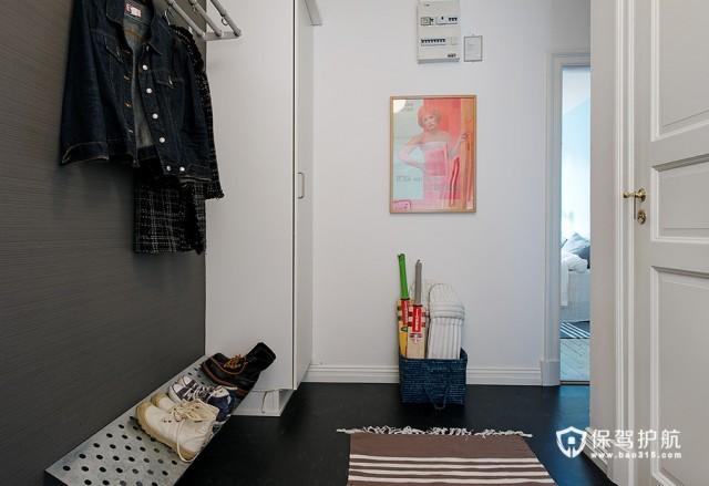 大气舒适欧式 87平米简洁公寓