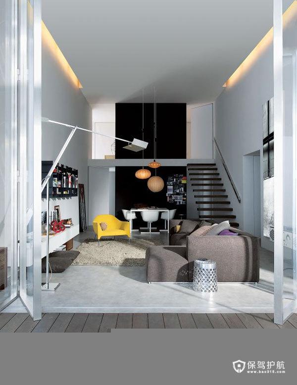 舒适休闲空间 简易混搭风情别墅