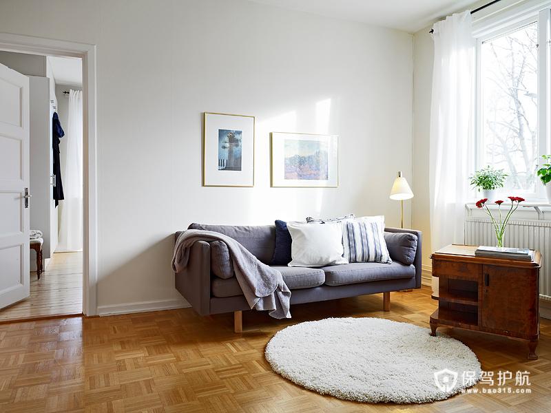 甜美欧式 68平米乡村甜园公寓