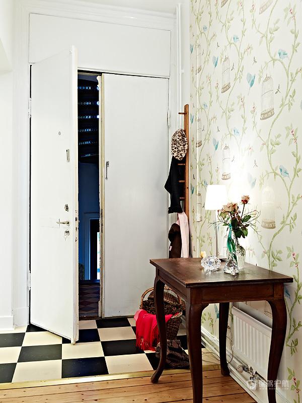 92平米优雅居室 北欧混搭家庭公寓