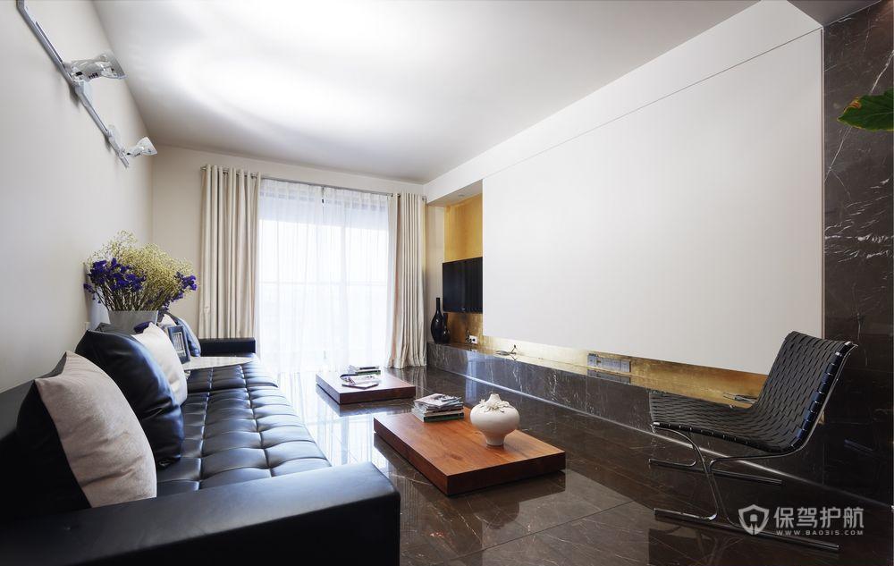 黑白舒适家居 简约气质公寓