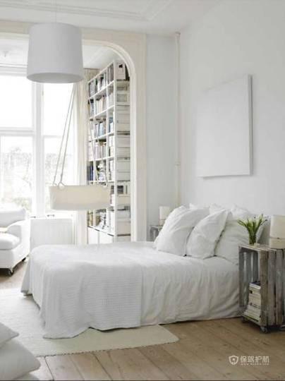 简欧风小户型卧室装修效果图