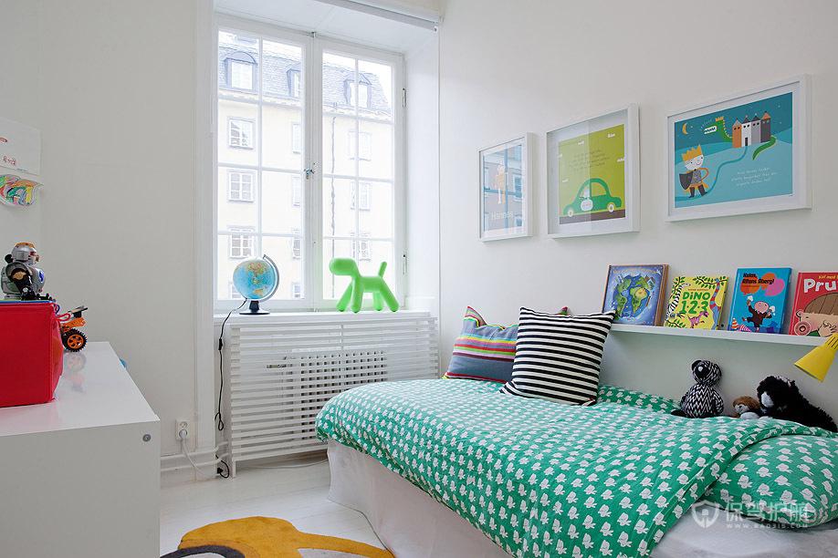 白色下的炫彩 10款宜家风个性儿童房