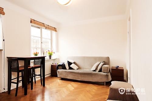 28平米巧用空间 简约时尚单身公寓