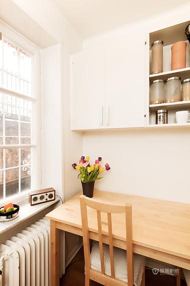 28平现代简约风小公寓餐厅装修效果图