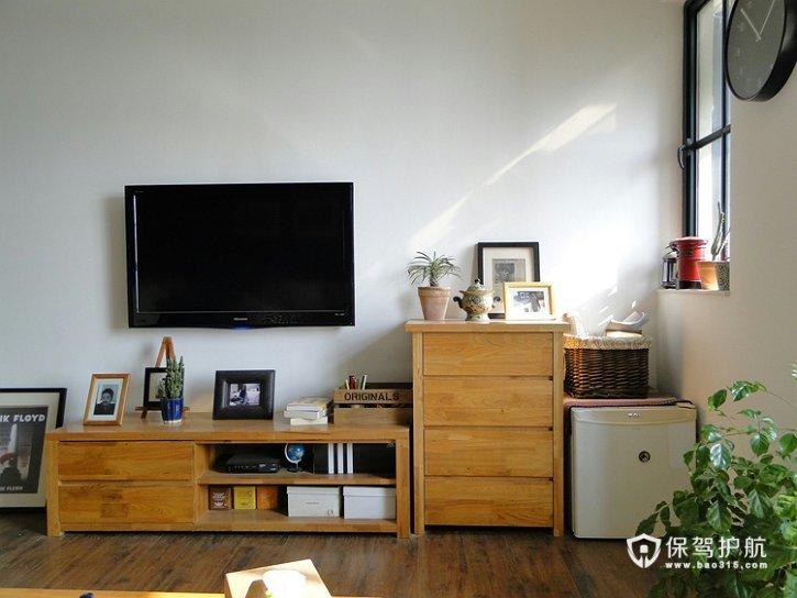 文艺范 13款超强收纳电视背景墙 电视背景墙,客厅,电视柜