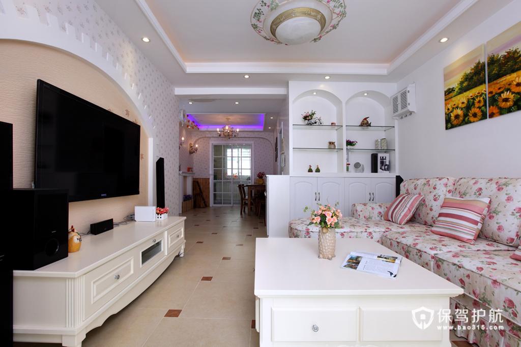 各种风格客厅 25款个性电视背景墙 客厅,电视背景墙,沙发,茶几,电视柜