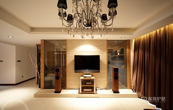 各种风格客厅 25款个性电视背景墙 客厅,电视背景墙
