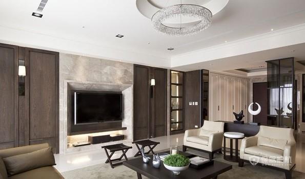 各种风格客厅 25款个性电视背景墙 客厅,电视背景墙,沙发,茶几