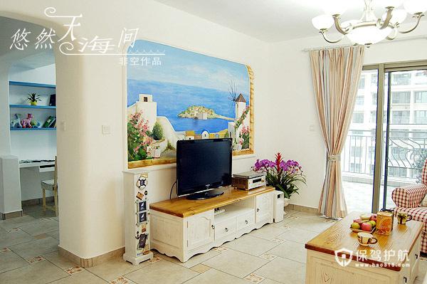 各种风格客厅 25款个性电视背景墙 客厅,电视背景墙,电视柜,窗帘