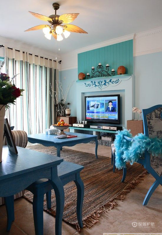各种风格客厅 25款个性电视背景墙 客厅,电视背景墙,茶几