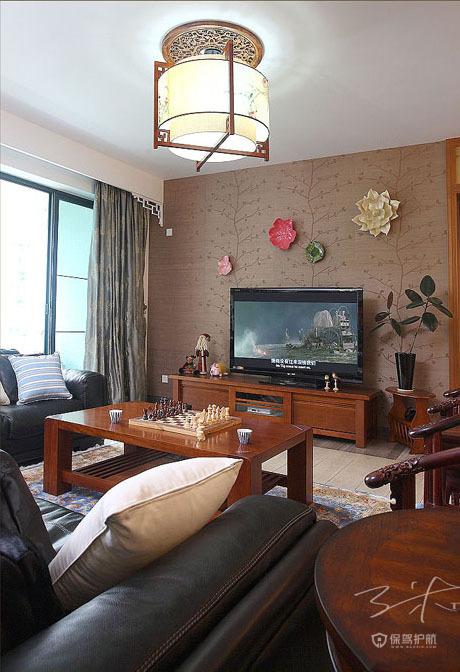 各种风格客厅 25款个性电视背景墙 客厅,电视背景墙,茶几,灯具