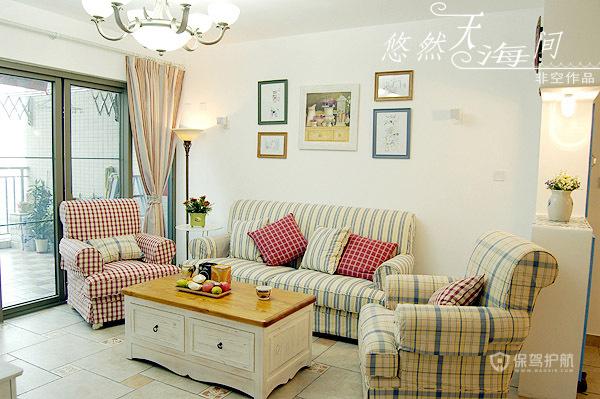 留住美好回忆 10款沙发背景照片墙 照片墙,客厅,沙发,茶几,窗帘