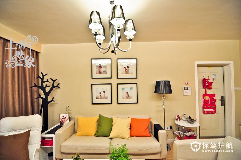 留住美好回忆 10款沙发背景照片墙 照片墙,客厅,沙发