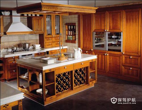 小厨房大用途 40款收纳性橱柜