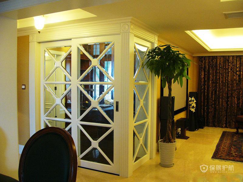 四室两厅古典风格客厅装修效果图