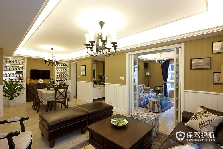 154平美式公寓 四室户精致美学