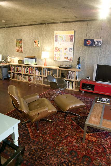 小空间大温馨 单身男的简约一居室