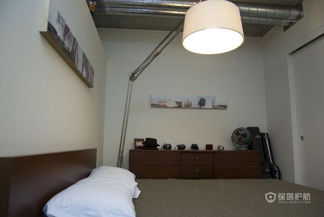 简约风格一居室超小户型灯具软装效果图