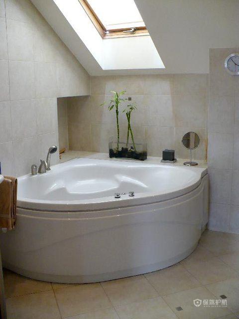 简约风格三室两厅阁楼淋浴房天窗效果图
