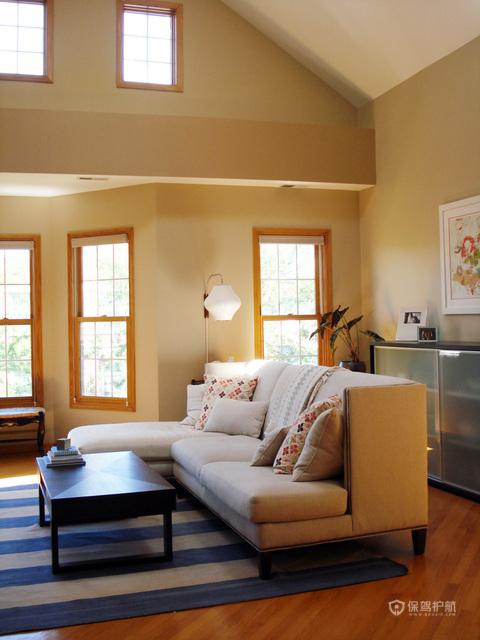 欧式优雅居室 柔和色彩温馨家