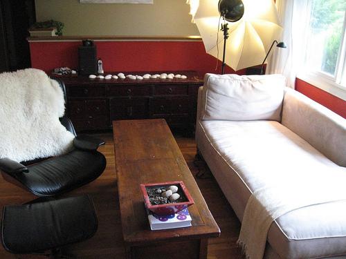 温暖舒适 经济混搭二居室
