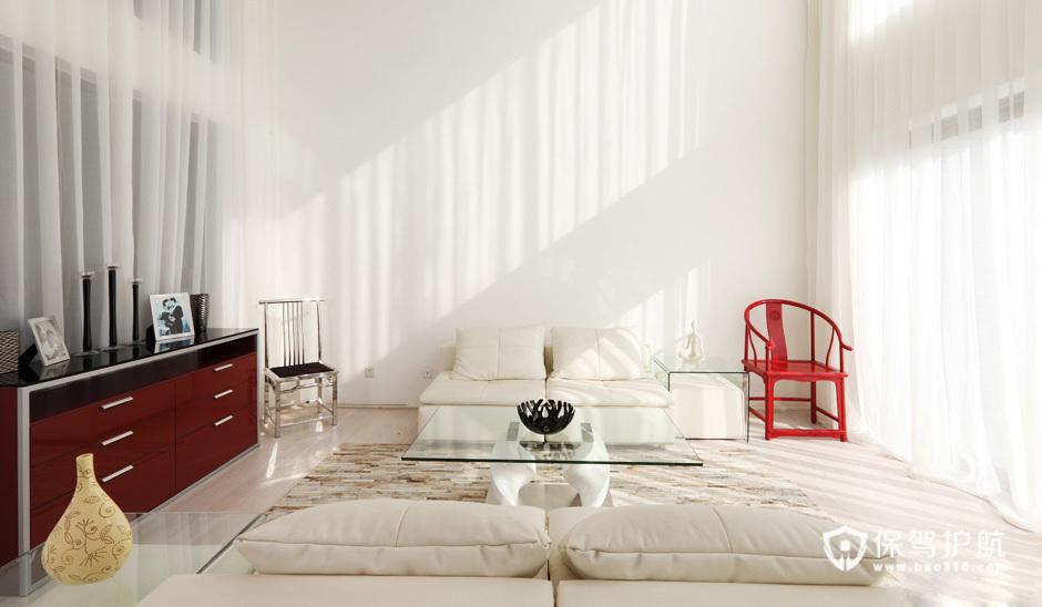 纯白美学设计 温馨时尚别墅