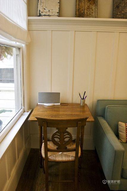 现代简约一居室客厅沙发背景墙装修效果图