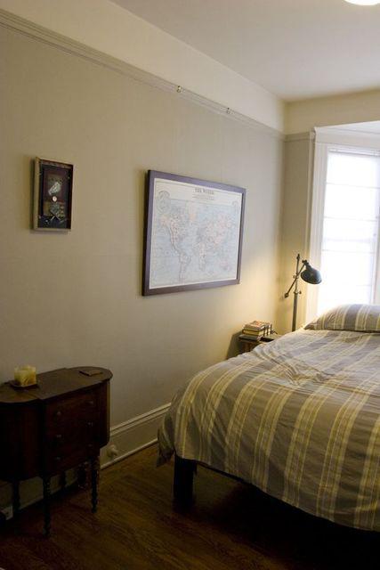法式简约卧室墙面装修效果图