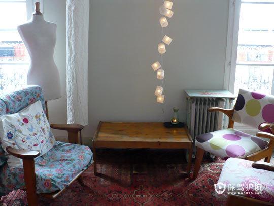 异域风情一居室 艳丽混搭小公寓