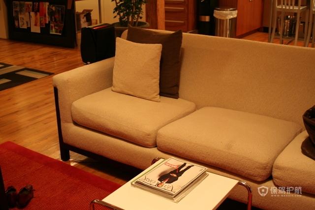 美式风格四室一厅公寓家具软装搭配效果图