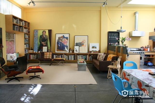 艺术气质别墅 宽敞二居室