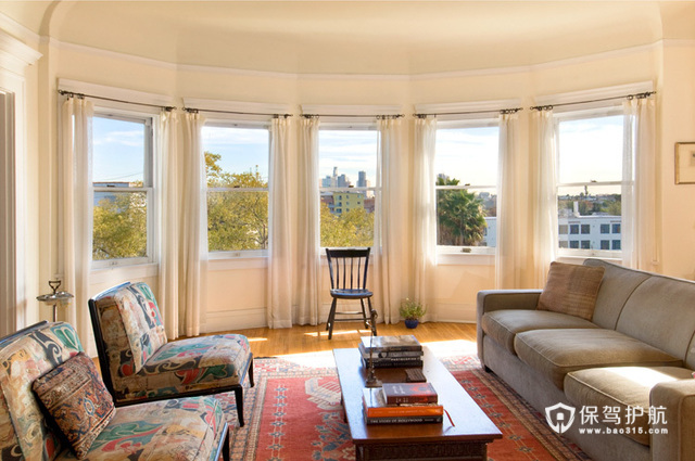 低调奢华公寓房 美式混搭二居室