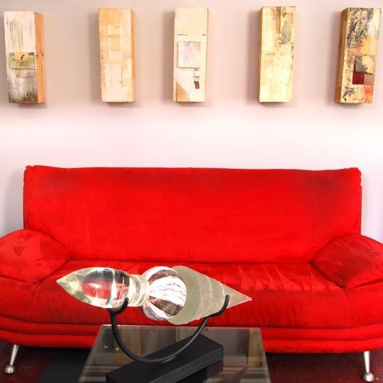 红色浪漫 温馨一居室